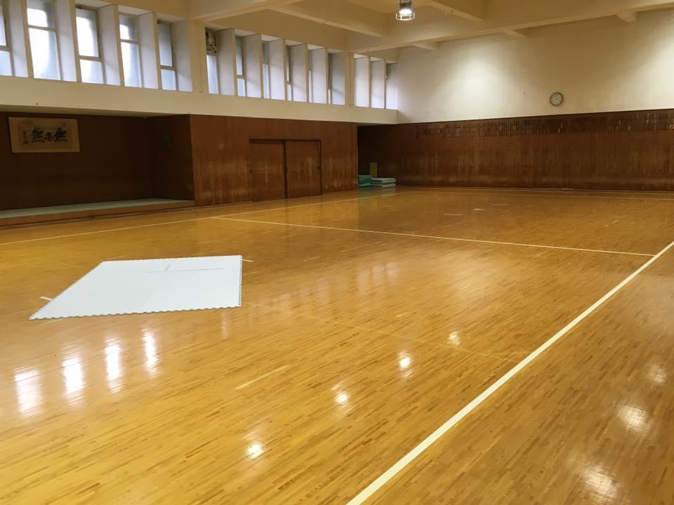 京都大学空手道部 道場