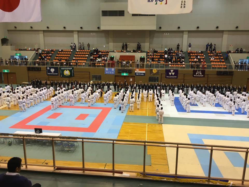 全関西個人戦 空手 2016年4月29日 京都大学空手道部