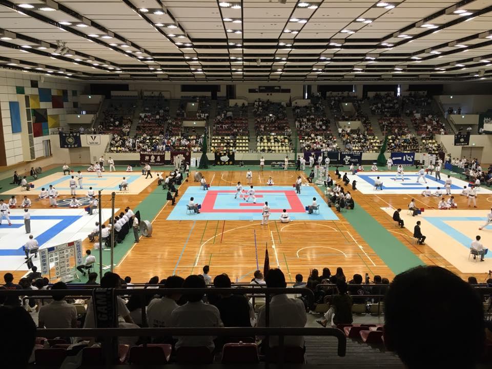 2016.5.29 第54回 西日本大学空手道選手権大会@近大記念館