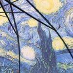 """シャガールみたいな青い夜だと思ってたら、ゴッホの""""星月夜""""だった件"""