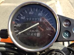 10 77777km