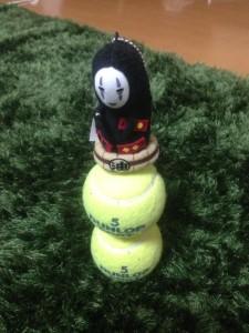 カオナシ テニスボール積み 集中力講座 阿部洋太郎