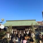 2016年の初詣1-都島神社-