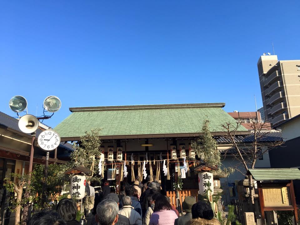 都島神社 初詣 2016年1月1日