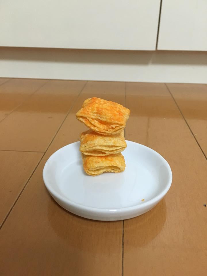 エアリアル チェダーチーズ味 積み 集中力 阿部洋太郎