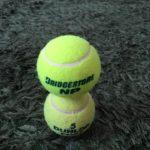 テニスボール2個積み
