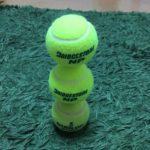 テニスボール3個積み